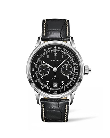 The Longines Column-Wheel Single Push-Piece Chronograph L2.800.4.53.0