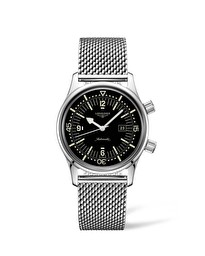 The Longines Legend Diver Watch L3.374.4.50.6