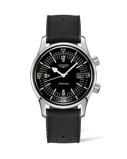 The Longines Legend Diver Watch L3.774.4.50.9