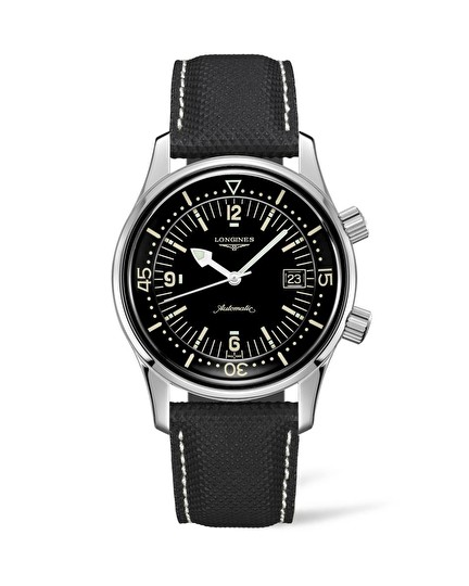 The Longines Legend Diver Watch L3.774.4.50.0
